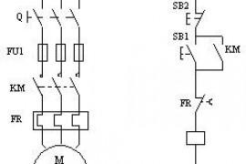 接触器自锁正转控制线路