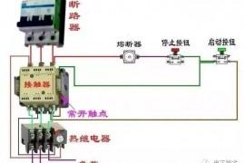 接触器继电器NO和NC接线,举例说明