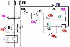 电动机串电阻降压启动