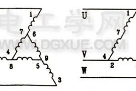 电动机延边三角形降压启动原理