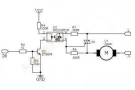 不用继电器用单片机控制交流电通断
