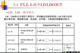 三菱FX2N的27条基本指令,一看就明白