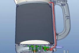 电热水壶烧开水自动断电的工作原理